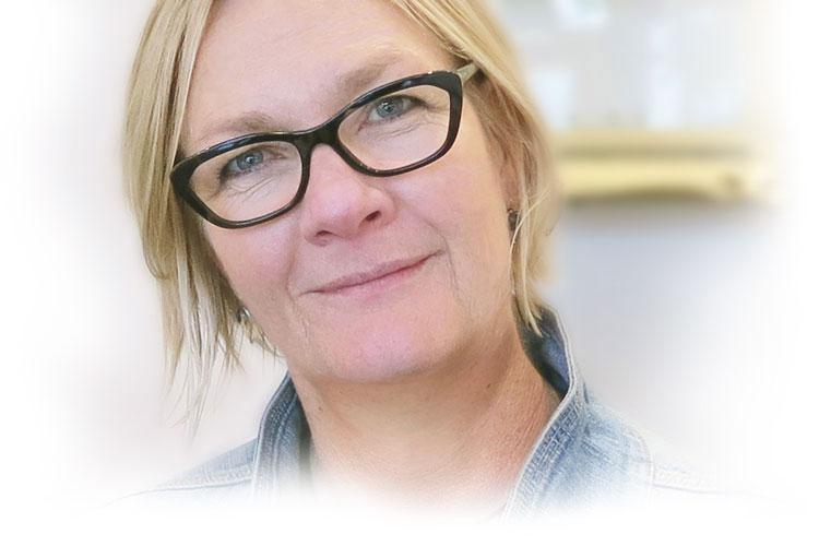 Janine Davidson - jewellery designer at Scarab Jewellery Studio