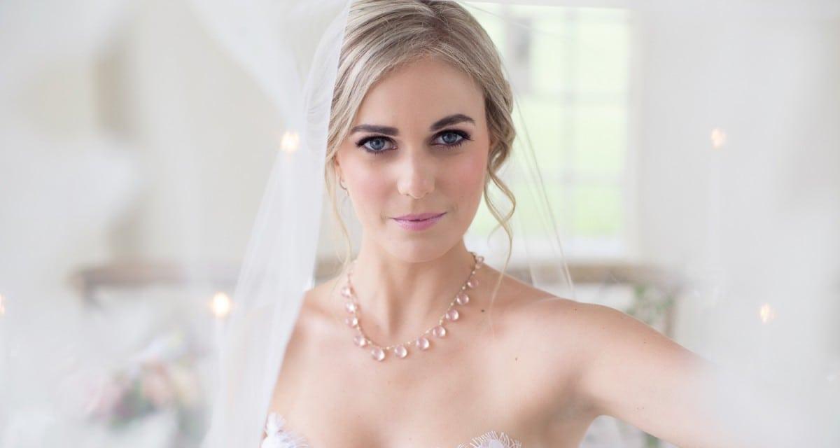 Blushing Bride - Bridal Jewellery by Scarab Jewellery Studio