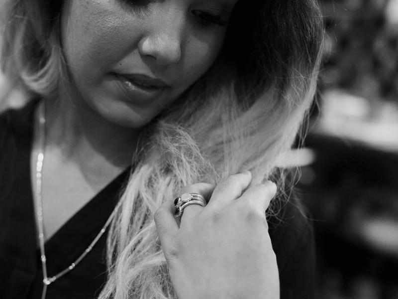 Secret Scarab Gemstone Rings by Scarab Jewellery Studio